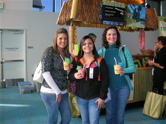 Customers Enjoying smoothies