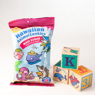 Hawaiian Animal Cookies